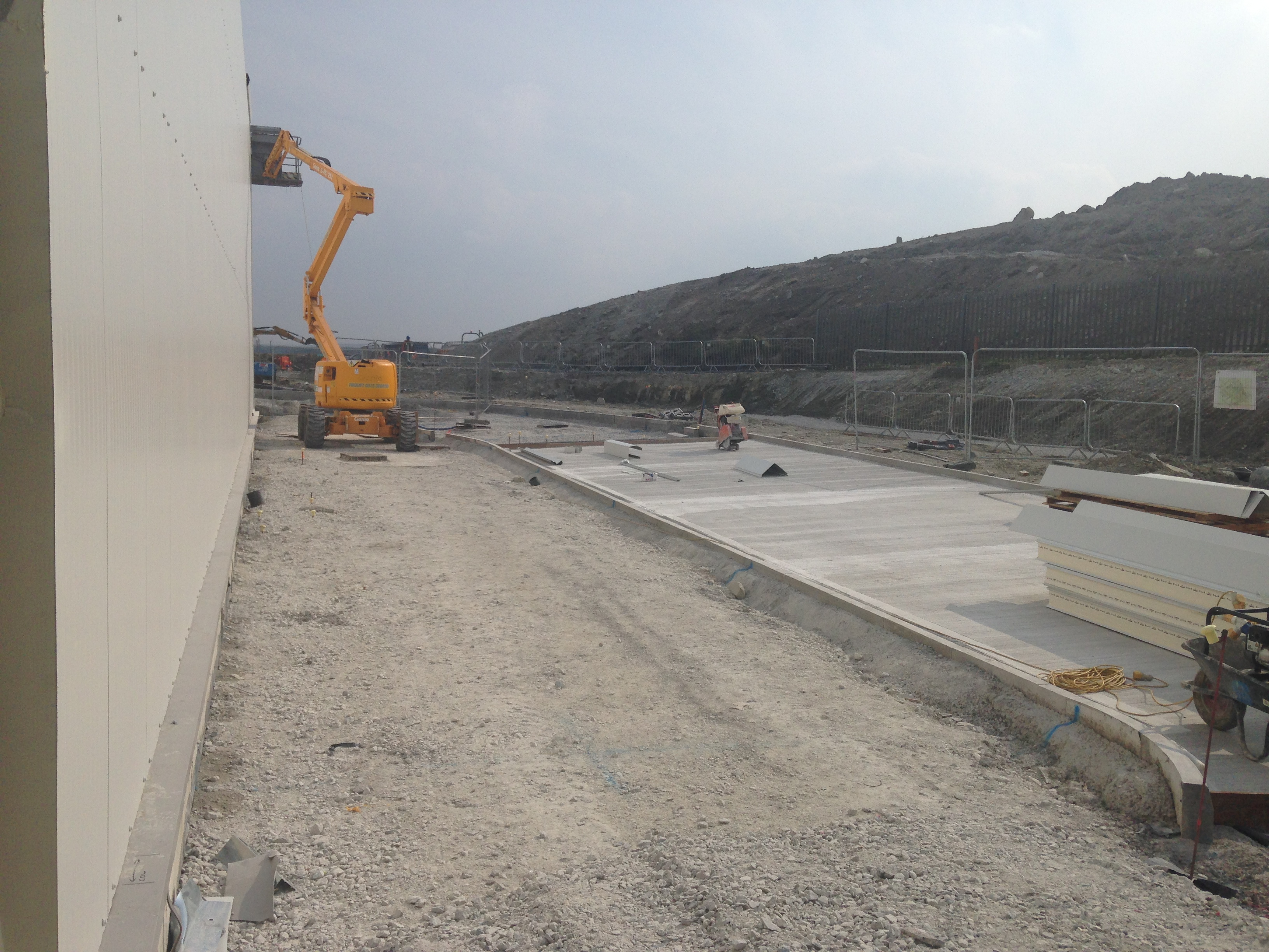 Wall Construction Services : Factories and floors d wall construction services ltd